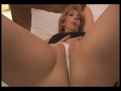 Attractive Mature lady stripping and showing off nice pussy free