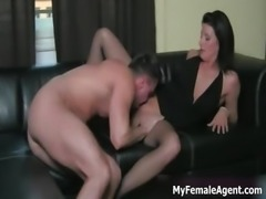 Sexy milf boss in hot stockings gets part4