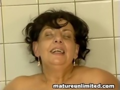 Fat Mature maid gets pounded free