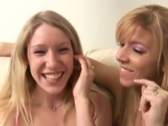 Couple Seduces Blonde Teen Allison free