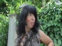 Wendy, french mature in a threesome free