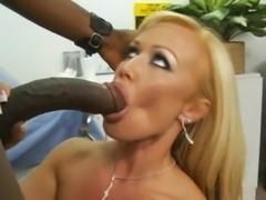 Blone milf loves black cocks free