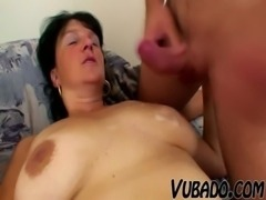 MATURE WOMAN FUCKS WITH YOUNG STUD !! free