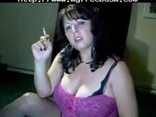 Busty Mommy Tells You To Cum While She Smokes  By Fireice bdsm bondage slave femdom domination