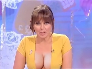 Carol Vorderman big tits