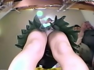 Japanese Girl Shop Upskirt Voyeur