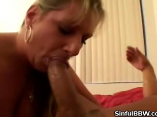 We have this lovely BBW babe in this clip as she and her man kicks it off by...