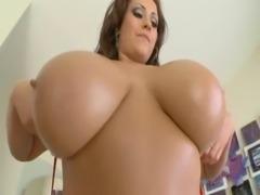 Huge tits MILF and big cock free