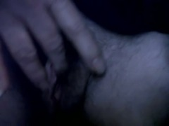 Man With Pussy Playing With Big Clit