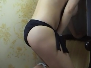 (softcore) busty beauty plays in pantys