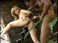 Britney Enjoys A Big Black Cock