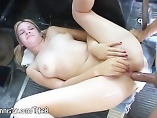 Young anal and huge facial