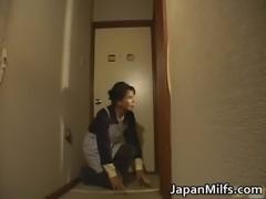 Horny japanese MILFS sucking and fucking free