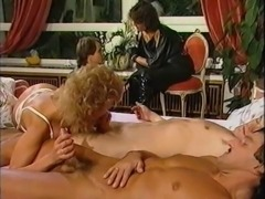 Desiree Barclay hot threesome