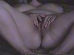 My wife playng strip and get pussy licking
