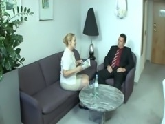 Old german lady Bea Dumas getting fucked on the couch free