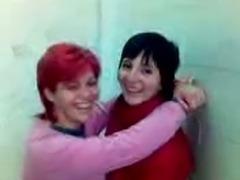Amateur Teen lesbians funny in toilet - SERBIAN
