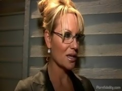 Captured Boy Toy Pleases Two Hot Babes Kelly Madison and Kagney Linn Karter free