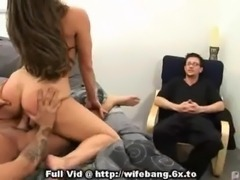 Husband Watching Wife Banged free