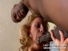 Mature busty blonde gets fucked by BBC free
