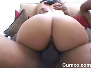 Big Black Ass Ghetto Rammed By Two