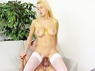 Blonde German Milf Has amazing hangers