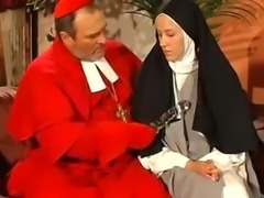 The nun and priest get it on