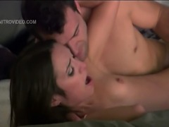Enjoy sexy and horny Amber Rayne getting really busy with a big cock