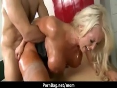 Mommy Got Boobs - Hot MILF getting fucked hard free