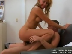 MILF blond gets fucked in office(2) free