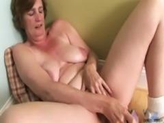 Ray Lynn mature dildo masturbation free