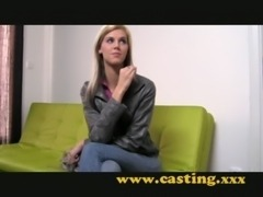 Casting - Super skinny babe gets fucked hard free
