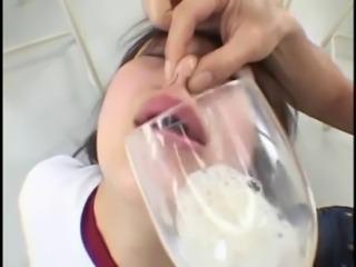 Japanese cum swallow