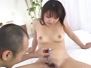 Fingers and toys deep in her korean ass