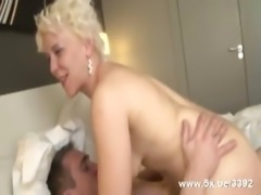 Coralie a French mature double fucked
