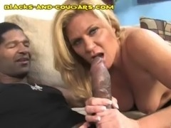 Cougar Knows Size Matters free