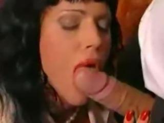 Antonella and Valentine Doing A Blowjob Duet