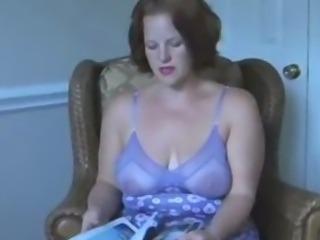 sheer lingerie mom