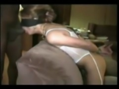 blindfolded suck job
