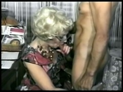 Mature chick cant resist a big cock