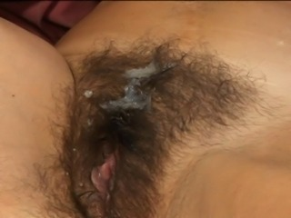Hairy busty mom