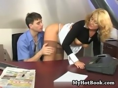mommy seduced her boss in hos own office free