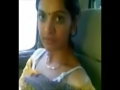 Cute Desi Bhabhi Show Milky Boobs In Car With Lover free