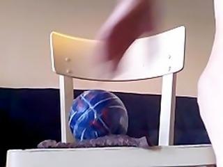 ballon dans mon cul