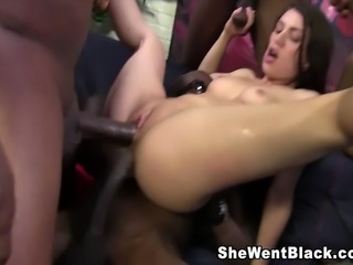Tiffany Doll gets Double Penetrated by Big Black Cocks
