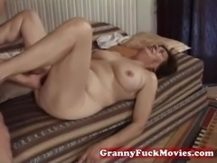 Hairy granny slit fucked by pro free