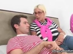 Puma Swede is teaching her stepdaughter