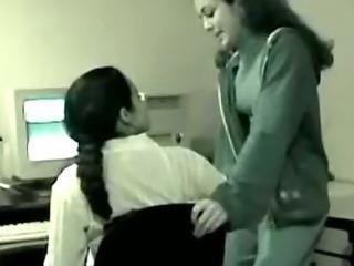 Desi Lesbians In Office  indian desi indian cumshots arab