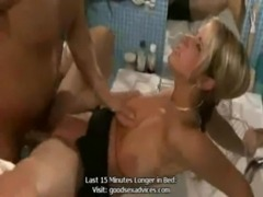 Russian Girl Gets It In The Bathroom free