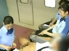 Asian Stewardess Teaching Babe S asian cumshots asian swallow japanese chinese